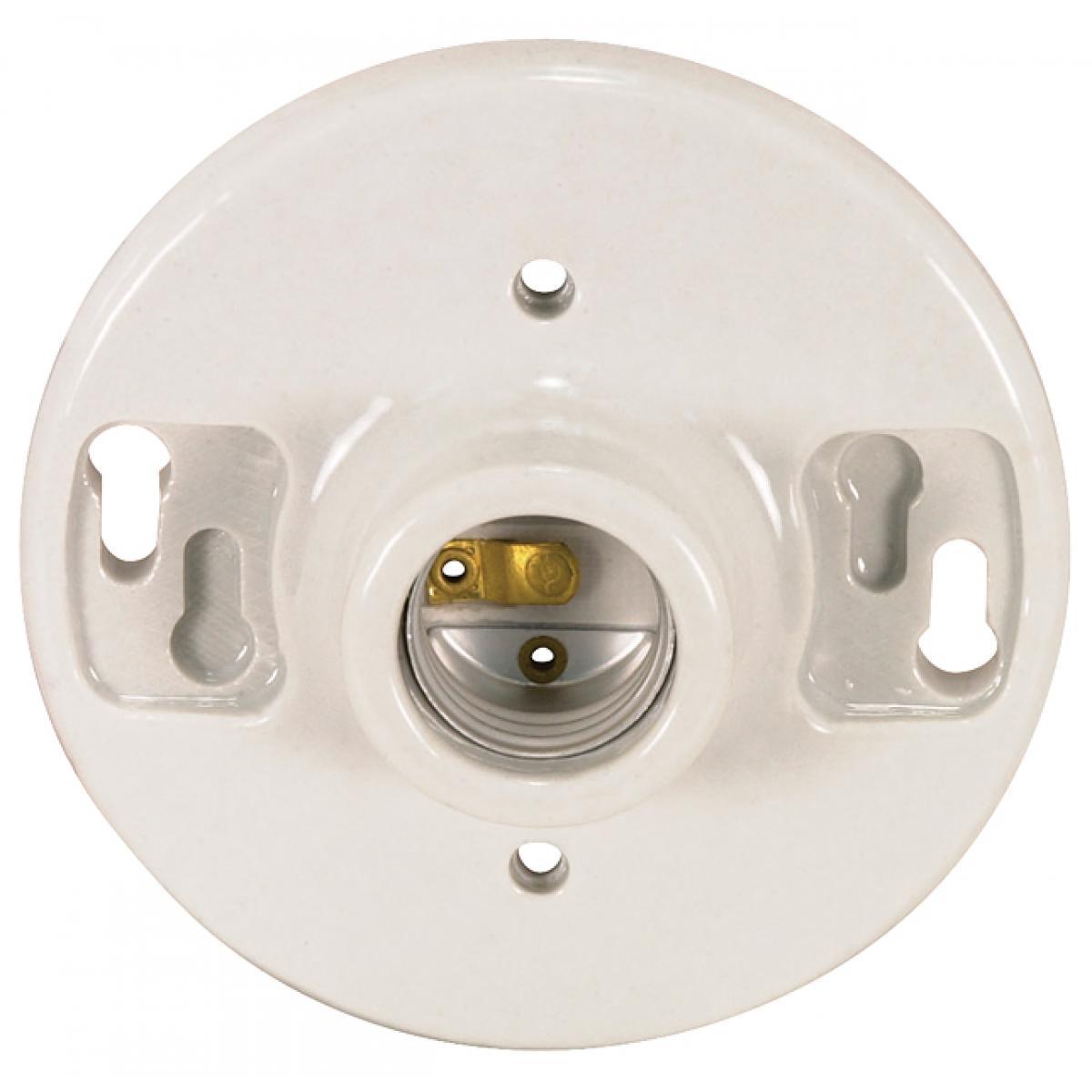 Satco 80-1090 Candelabra-Porcelain Sockets W//Paper Liner Color